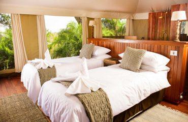 Beautiful rooms at Ila Safari Lodge