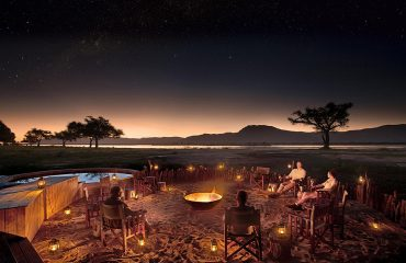 Mana Pools National Park never sleeps. The campfire is the perfect place to reflect and enjoy the starry sky.