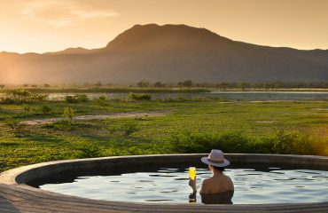 And relax........ Nyamutsi serves up views of the Zambezi River and escarpment.