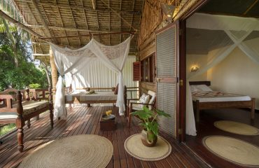 Pole Pole strikes up a very authentic and shipwrecked vibe whilst providing exceptionally comfortable accommodation.