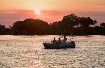 Enjoy a memorable sunset cruise on the Zambezi.