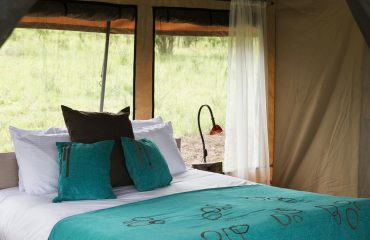 Each tent is beautifully appointed at Kiota Camp