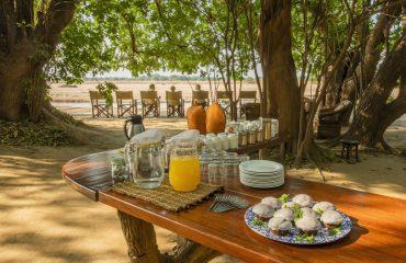 Tafika Camp afternoon tea