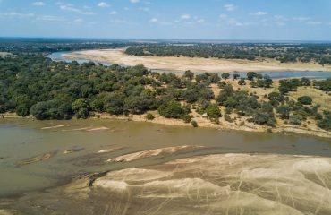 Tafika Camp aerial view