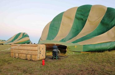 Preparing for your hot air balloon flight