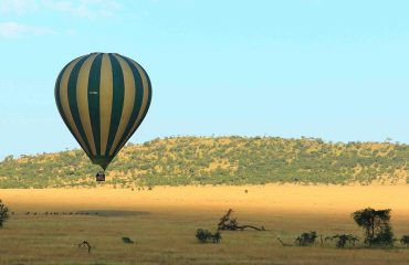 Serengeti hot air balloon flight