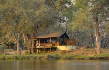 Old Mondoro Camp is situated on the banks of the Zambezi River