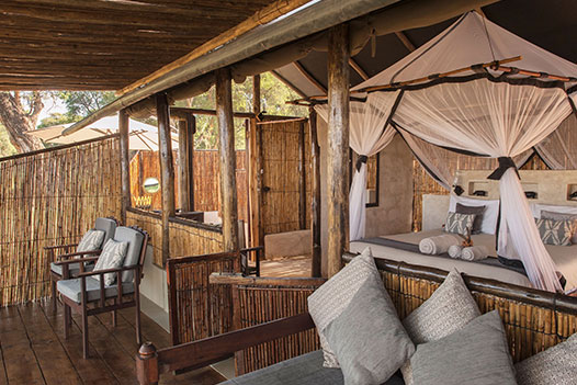 Luangwa Zambezi Explorer, Old Mondoro Camp 2 - Ultimate Wildlife Adventures