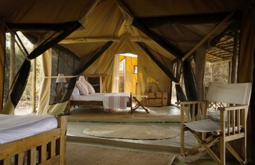 Spacious and well-appointed interiors at Kigelia Ruaha
