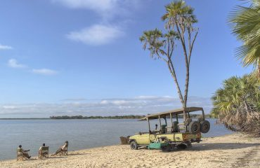 Take a break by the river on a morning game drive