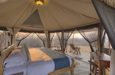 Kichaka Frontier Camp interior