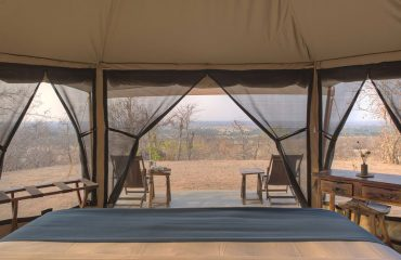 A room with a view at Kichaka Frontier Camp