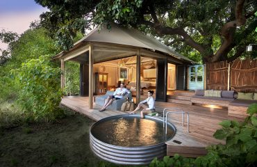 Privacy and seclusion awaits at Nyamatusi Camp