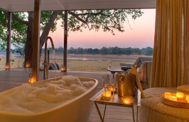 Relax in utter luxury at Chinzombo