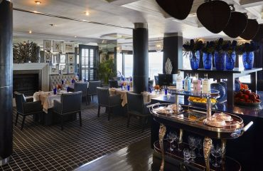 Enjoy fine cuisine at the Twelve Apostles Hotel & Spa's Azure Restaurant