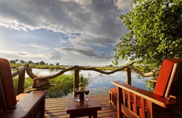 Does armchair safari get any better than this? Recline in your sunlounger on your private deck and watch wildlife visit the lagoon.