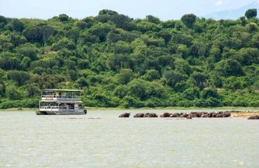 A boating safari down the Kazinga Channel is just one of the varied activities available on a visit to Queen Elizabeth National Park.