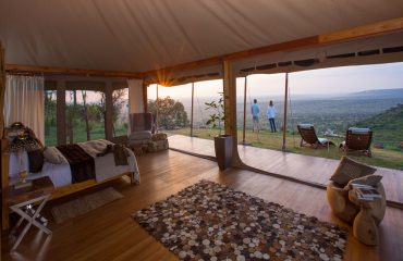 Loisaba Tented Camp double room