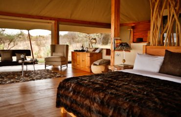 Loisaba Tented Camp double tent