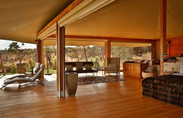 Loisaba Tented Camp brings glamour to camping