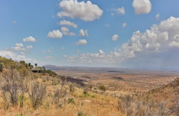 Loisaba Tented Camp commands a position of dominance overlooking the vast wilderness of the Laikipia Plateau