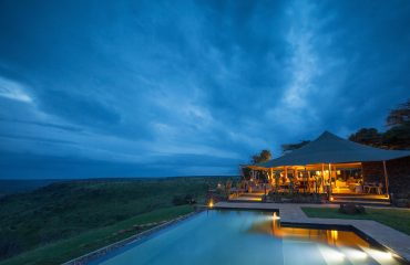 Loisaba Tented Camp, 5 star accommodation with 5 star views.