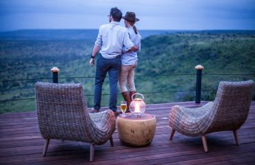 Marvel at the vistas from the verandah at Loisaba Tented Camp