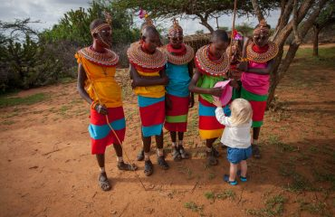 A cultural visit to a Samburu village is memorable for all the family.