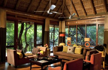 Relax in the Morukuru Owner's House living area and let the sounds of nature filter through.