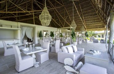 Experience 5 star culinary delights in the open and airy dining area.
