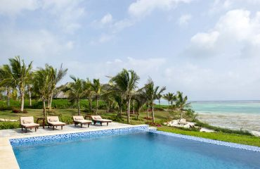 The pool is the perfect location to indulge in a good book and laze away your days in paradise.
