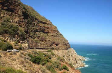 Drive from Hout Bay to Noordhoek on one of the world's greatest coastal roads, famous Chapman's Peak Drive