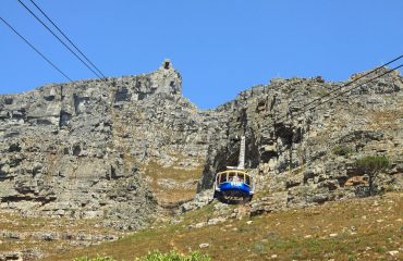 Take a ride on the aerial cableway for unrivalled views of Cape Town atop Table Mountain