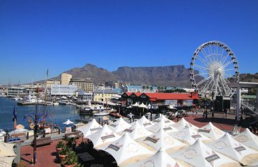 Visit the V&A Waterfront for fine restaurants and the gateway to Robben Island