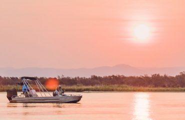 African sunset cruise