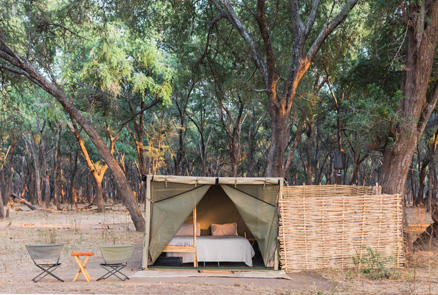 Kutali Camp, Wild Zambia Safari with Ultimate Wildlife Adventures