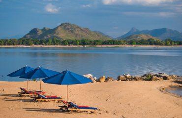 Pumulani beach
