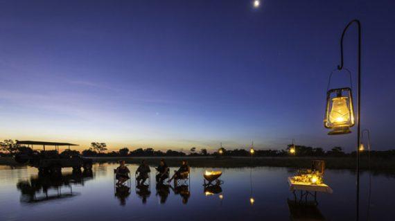 Premium Luxury Botswana Safari daily itinerary